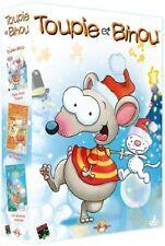 21697//LE MEILLEUR DE TOUPIE ET BINOU COFFRET 3 DVD NEUF SOUS BLISTER