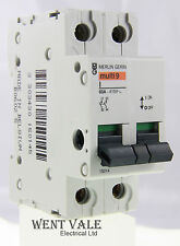 Merlin Gerin - Multi 9 15014 - Type I - 63a Double Pole Switch Disconnecter Used