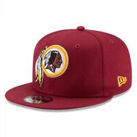 Washington Redskins New Era Basic 9Fifty Burgundy Adjustable Snapback Hat
