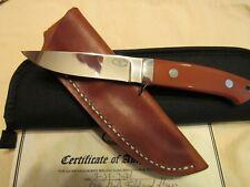 Custom Handmade Knife. Richard Rotella. Loveless Field & Stream Model. Mint