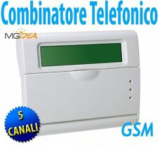 COMBINATORE TELEFONICO GSM VOX ITALIA 5 CANALI PER CENTRALE ALLARME ANTIFURTO z