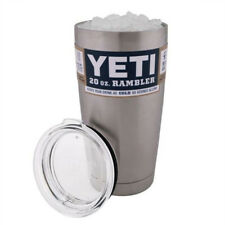 Rambler 20oz Tumbler Cup with Lid Stainless Steel Silver US