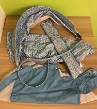 Stokke Xplory / Crusi / Trailz Summer Kit - Blue Squiggle