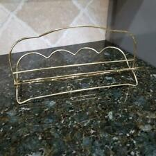 Vintage Gold Wire Glasses Caddy/Carrier