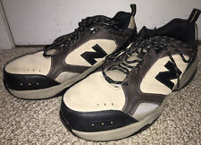 Mens NEW BALANCE Industrial 627 STEEL TOE Leather Work Shoes MID627O Size 13 EUC