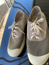 KEEN Gray/dark Gray Canvas Lace Up Sneakers Rubber Toe Men's US Size 9