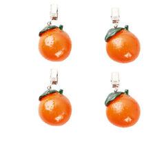 Tischtuchbeschwerer Orange, 4er Packung
