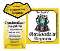 Glückauf-Brauerei 09355 Gersdorf - OBERWIESENTHALER BÜRGERBRÄU