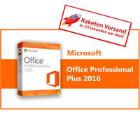 Microsoft Office 2016 Professional Plus MS Office PRO Plus Vollversion Business