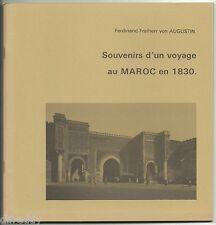 Souvenirs d'un Voyage au MAROC en 1830, Tanger  Maures, Dessins von Augustin TBE