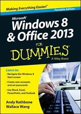 NEW - Windows 8 and Office 2013 For Dummies