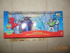 1999 Toy Story 2 Al's Toy Barn Battle Set Rock'em Sock'em Robots Buzz Zurg MIB