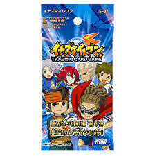 Takara tomy Inazuma Eleven ie-07 trading card game tcg 5 Cards booster pack