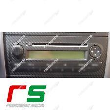 fiat punto ADESIVI kit stereo decal sticker carbonlook 4D
