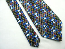 NOVELTY SNOOPY DOG AND WOODSTOCK 4 INCH POLYESTER NECK TIE