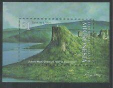 MICRONESIA # 181 MNH TOURIST ATTRACTION: SOKEHS ROCK (Souvenir Sheet)