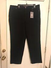 af904cd2b6c Gloria Vanderbilt Amanda Jeans 18w Black Classic Tapered Leg Stretch 28  Inseam