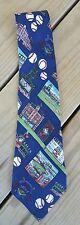 Men's Nicole Miller Coors Field Tie Silk Baseball Colorful Colorado Rockies
