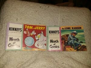 MARCH OF COMICS giveaway comic CUT #173 & #174 THE LONE RANGER & TOM and JERRY