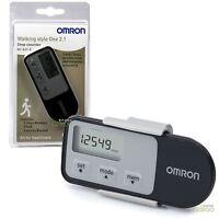 Omron Walking Style 2.1 Exercise Step Counter Sensor Pro Activity Monitor Black