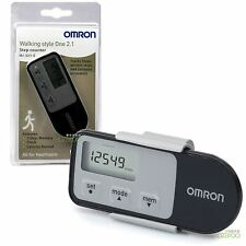 Omron Walking Style 2.1 Exercise Step Counter Sensor Pro Activity Monitor Black