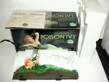 DC DIRECT ANIMATED POISON IVY COLD CAST PORCELAIN STATUE BRUCE TIMM 2001 W/COA