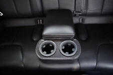 EVANNEX Rear Center Console Insert (Black / Carbon Fiber) for Tesla Model S