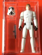 Loose Vintage Star Wars ultimi 17 POTF Luke Stormtrooper AFA 85 ARCHIVIO