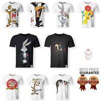 Looney Tunes T-Shirt Characters Bugs Bunny Daffy Duck Cartoon Men Women-S - 7XL