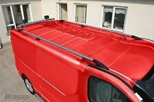 To Fit 2002 - 2014 Renault Trafic SWB Aluminium Alloy Roof Rails Steel Cast Ends