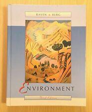 Environment by Peter Raven Linda Berg 2001 Hardcover