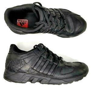 adidas EQT Guidance 93 x Pusha T Black Market Shoes Mens Size 9.5 Reflective