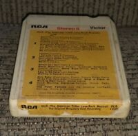 "VINTAGE ""HAIR"" BROADWAY CAST RECORDING 8 TRACK TAPE cartridge album RCA O8S-1038"