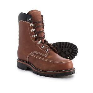 New Chippewa 1969 Original Kush N Kollar Leather Boots Waterproof Insulated 10 E