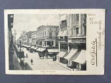 ±1900 Postcard MEXICO CALLE DEL REFUGIO Ruhland Ablschier