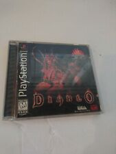 Diablo (Sony PlayStation 1, 1998) PS1 Case & Manual ONLY