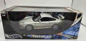 Hot Wheels 1:18 Scale Porsche GT3 Hot Wheels NIB
