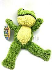 "Frog Mini Plush Stuffed Toy Adventure Planet Kermit Like, 6"" Journey Into"