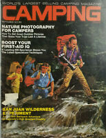 Camping Journal Sept 1971 Vtg Magazine San Juan Wilderness - Camper Photography