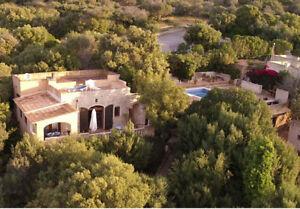 Finca Mallorca Chalet Bella Vista mit Pool+Tennis Cala Millor