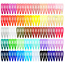 Hair Clips Pack 120 Pcs Colors Barrettes Snap Women Girls Hairpins Candy Metal
