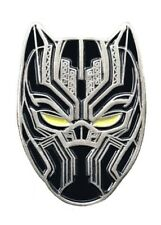 BLACK PANTHER T'CHALLA Enamel PIN GLOW IN THE DARK EYES Hat Backpack Lapel Pin