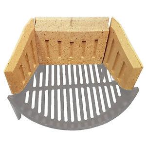 VD ® Fireclay Coalsaver Fire Brick Set- Side & Back Bricks, use Less Fuel