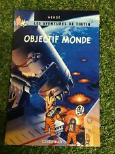 CARTES POSTALE TINTIN HOMMAGE A HERGE  PARODIE objectif monde