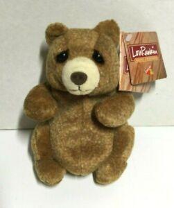 Lou Rankin Mini Friends Jasper Bear Plush Dakin Cute Stuffed Animal Sad Eyes