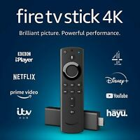 Amazon Fire TV Stick 4K Ultra with 2nd Gen Alexa Voice Remote - Black New Sealed