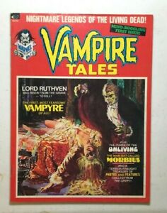 VAMPIRE TALES magazine #1 - 1ST SOLO MORBIUS SERIES / VF or Better Condition