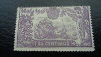 Spanien, Espana 1905, Mi-Nr.: 222, Don Quijote, Rückseite mit Nr.: A001,468