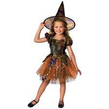 Witch Costume Kids Halloween Fancy Dress