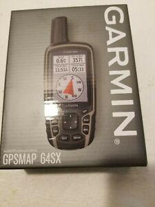 New Garmin GPSMAP 64sx Handheld GPS with Navigation Sensors